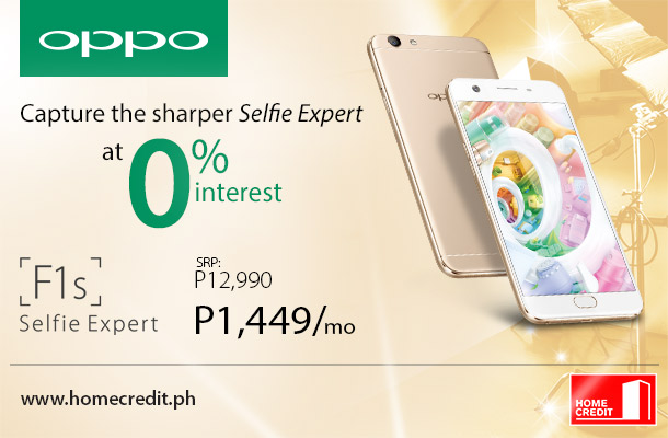 OPPO and Home Credit team up again for F1s promo | Home Credit