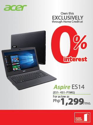 Acer Aspire Es14 At 0 Interest Home Credit