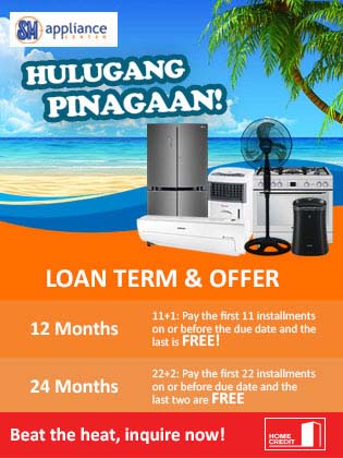 Have A Cool Summer With Sm Hulugang Pinagaan Home Credit