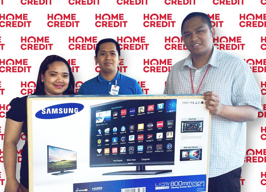 Maorinna Espadero, Winner of Samsung Smart TV